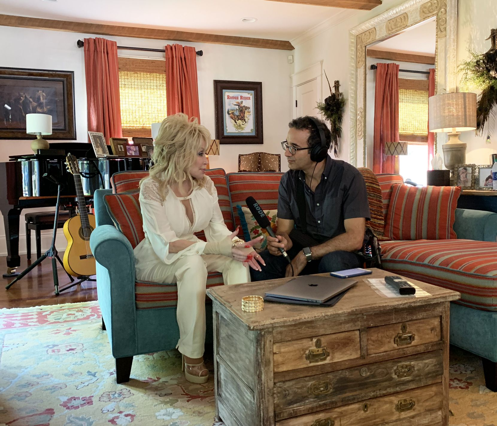 Jad Abumrad interviews Dolly Parton for his podcast 'Dolly Parton's America' from WNYC Studios.
