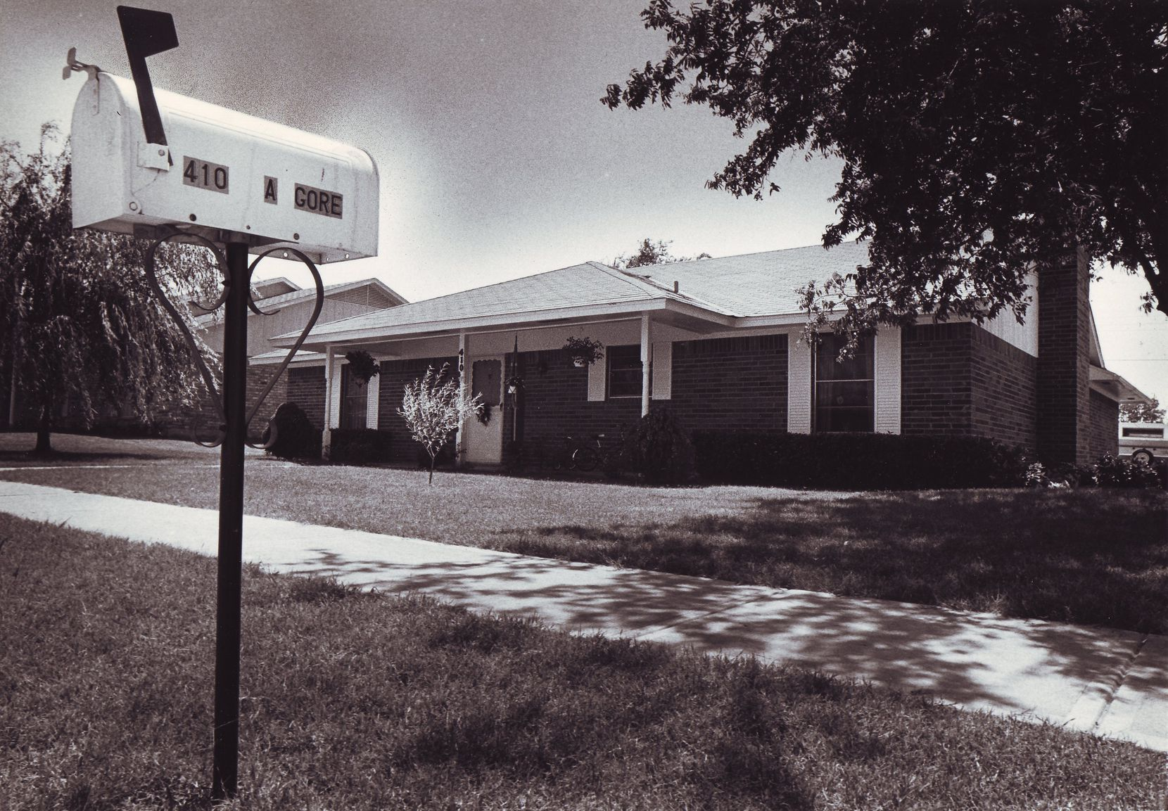 The scene of the killing in Wylie is shown in a 1980 file photo.