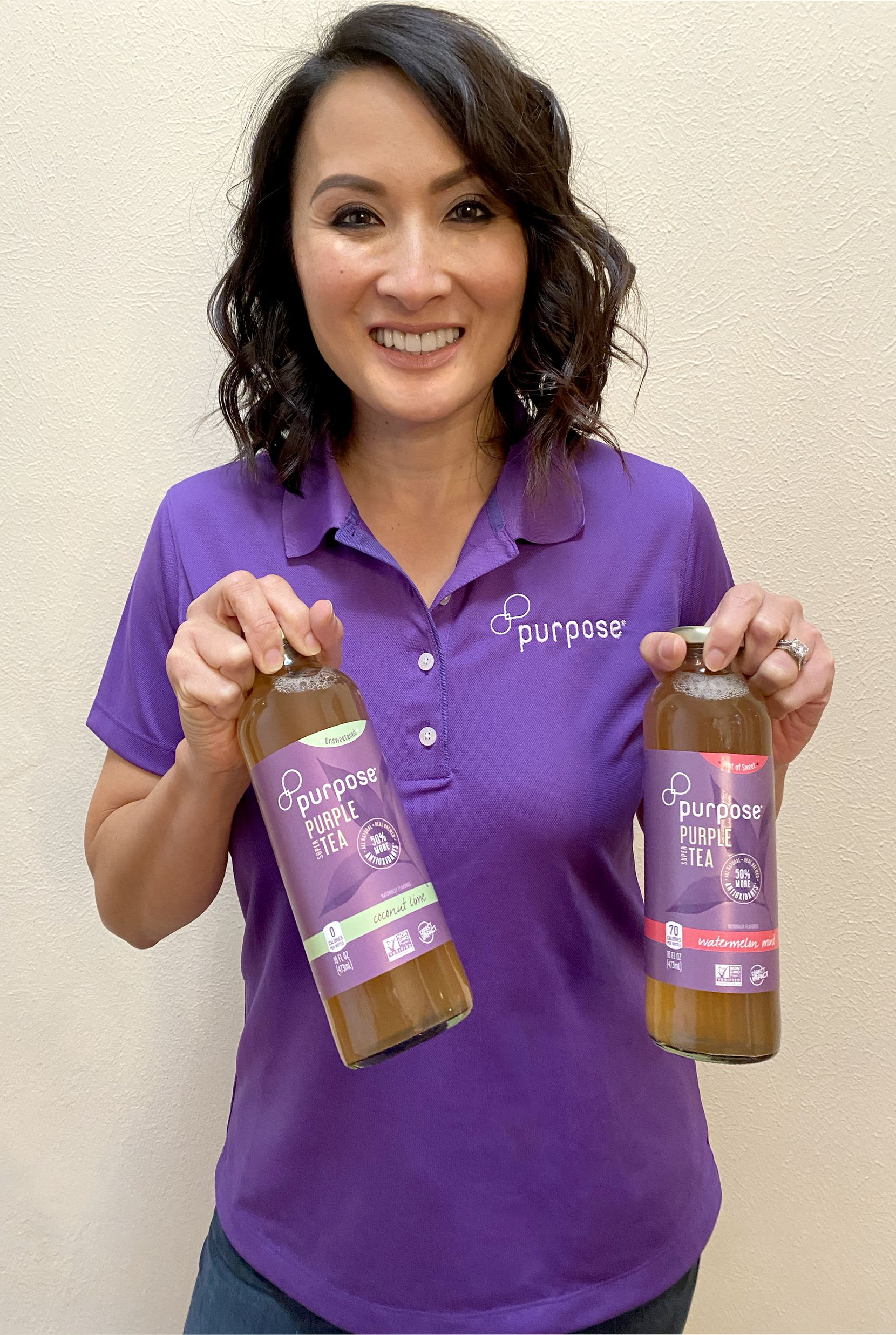 Purpose Tea is a Dallas-based startup beverage brand founded by Chi Nguyen.