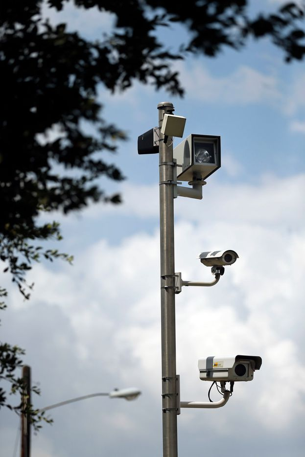 The city of Irving uses a set of red-light cameras at O'Connor Road and Lane Street. Attorneys Russell Bowman and Scott Stewart are challenging the city of Irving and several other cities in the state on the legality of red-light cameras.