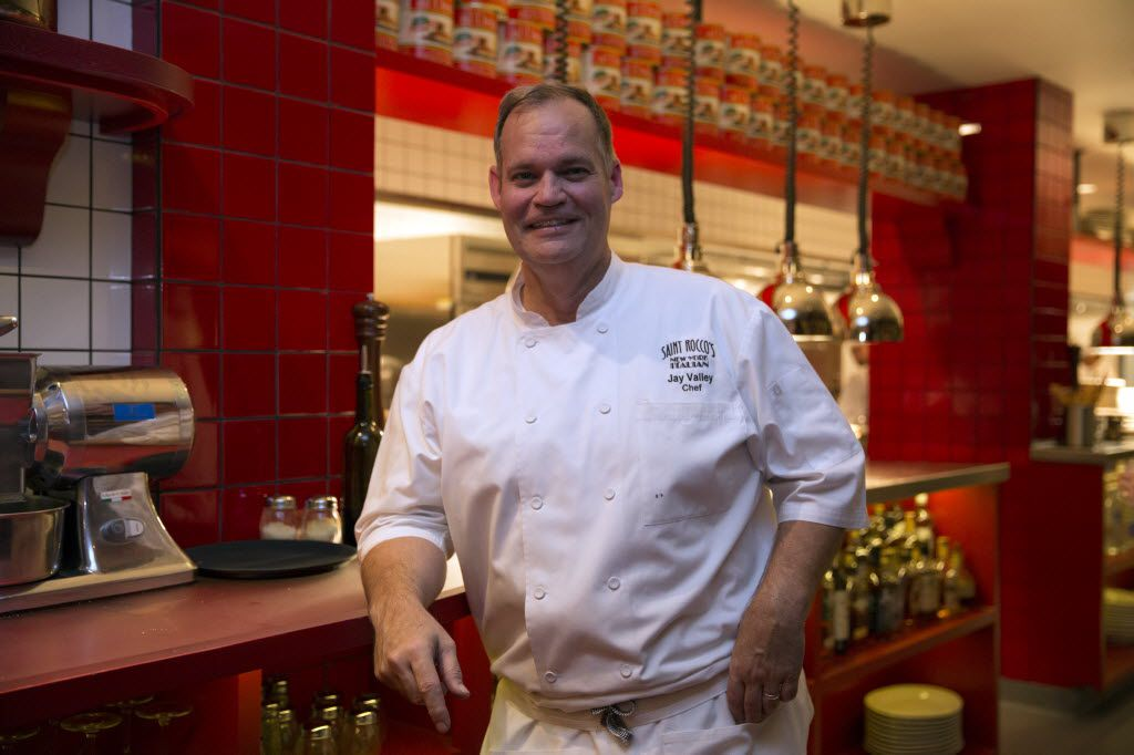 Jay Valley, executive chef and co-owner of Saint Rocco's