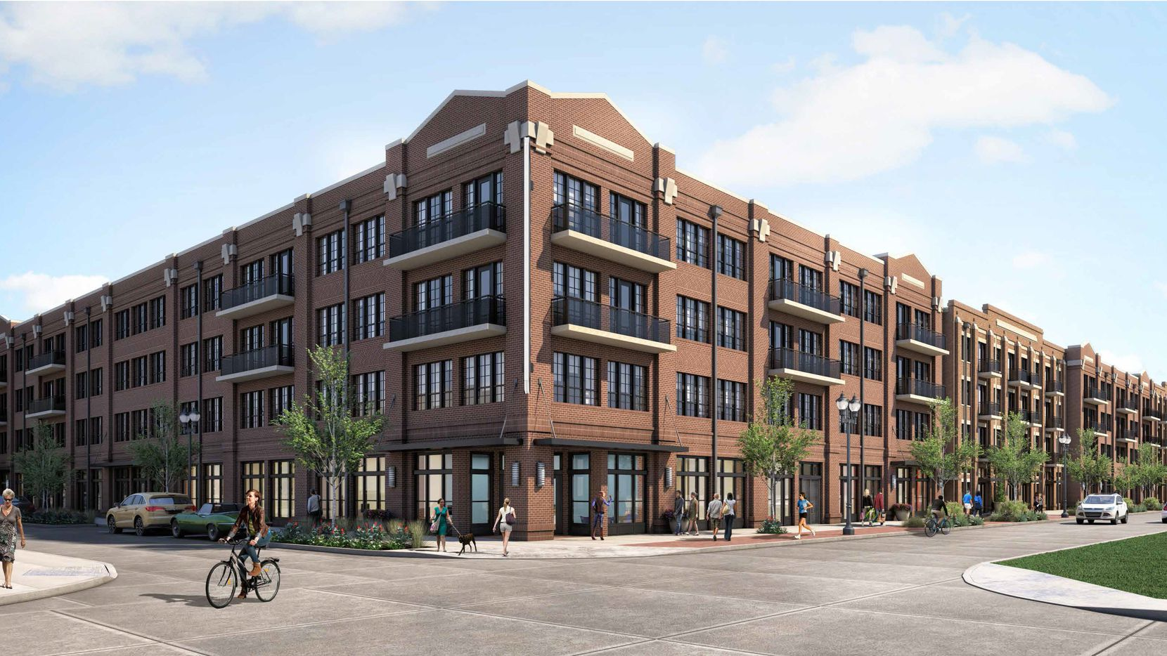 KWA Construction is building the Kilby apartments for Toll Brothers.
