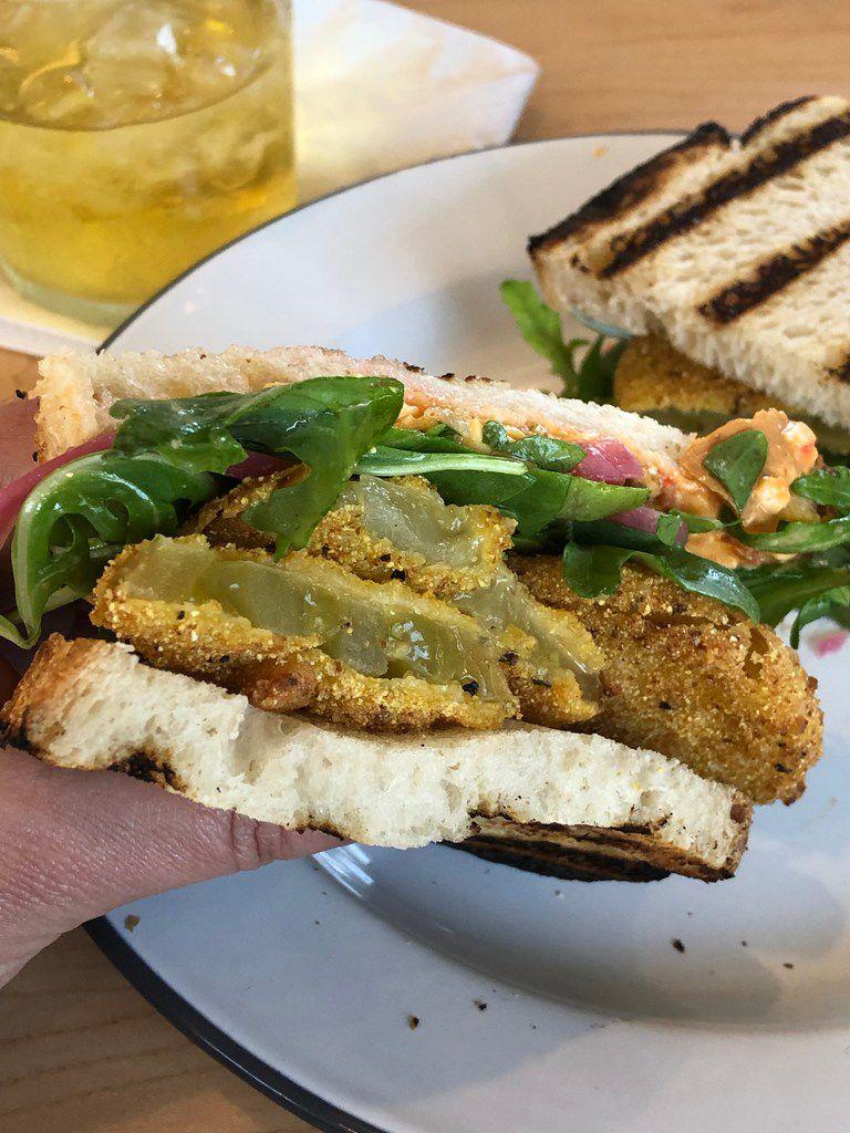 The Green Mater Sandwich