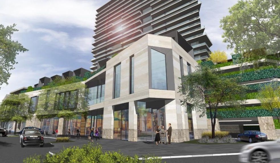 The luxury hotel and residential project is planned in the Gate development on the Dallas North Tollway.