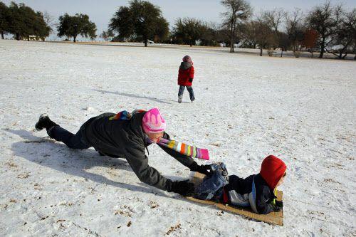 La última vez que cayó nieve en Navidad fue en el 2012. El 26 de diciembre, en Flagpole Hill, fue un día para divertirse con la nieve ese año.