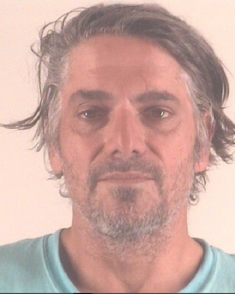 David Lynn Sarkisian, 48, faces a charge of arson of habitation causing bodily injury in connection with an attempted robbery at the Budget Host Inn on May 24, 2020.