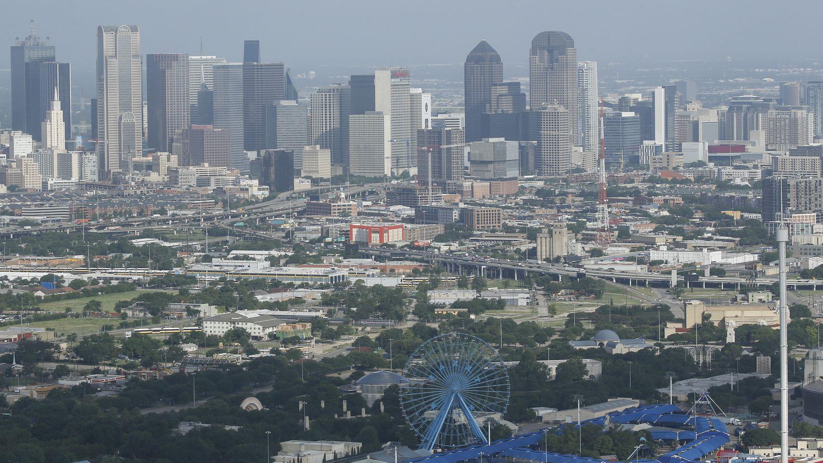 Fair Park is seen on Friday, June 26, 2020 in Dallas. (Ryan Michalesko/The Dallas Morning News)