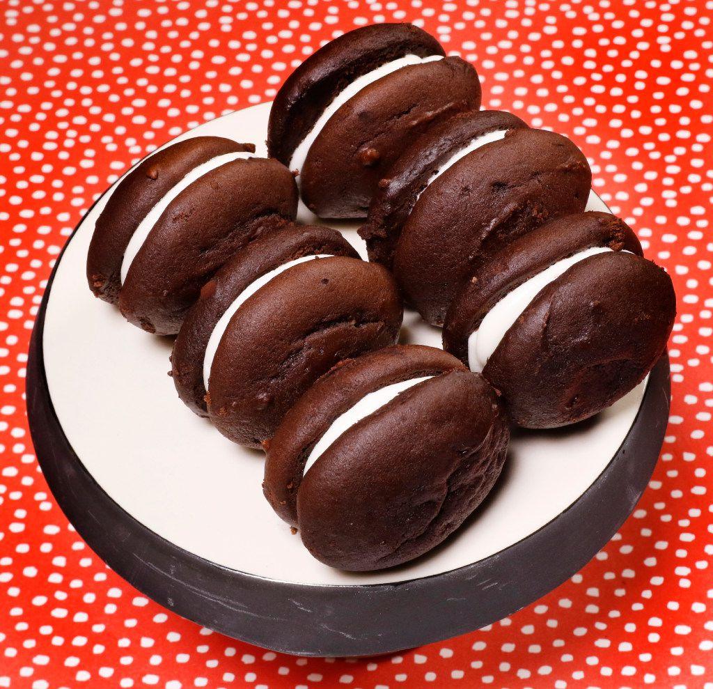 Chocolate Marshmallow Whoopie Pies (David Woo/Staff Photographer)