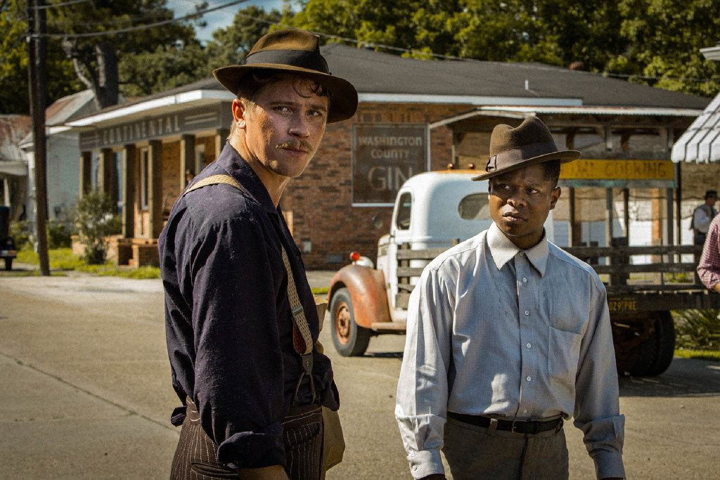 Garrett Hedlund and Jason Mitchell appear in Mudbound by Dee Rees, an official selection of the Premieres program at the 2017 Sundance Film Festival