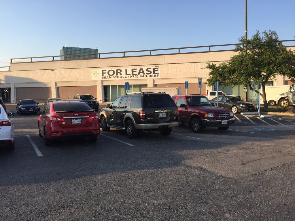 Caruth Plaza has a couple spaces available after the 58,000-square-foot former Sports Authority space was carved up. Shoe retailer Skechers is opening in the main section of the building at 9100 N. Central Expressway in Dallas on July 27, 2018.