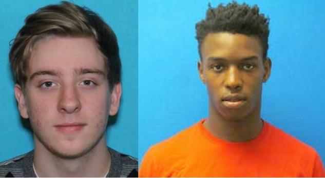 Brandon Buchanan  (en fuga) y Gervon Thothion (arrestado).