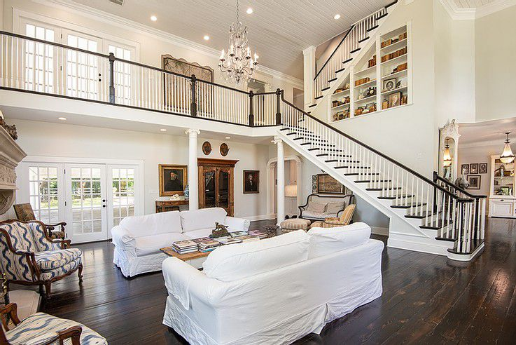 The house is more than 6,000 square feet.