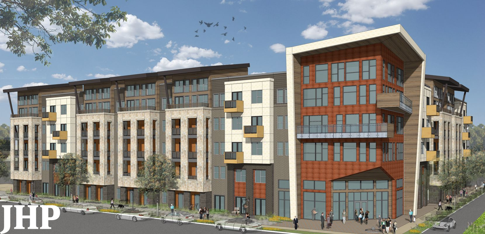 JPI's Routh Creek apartments will have 420 units.
