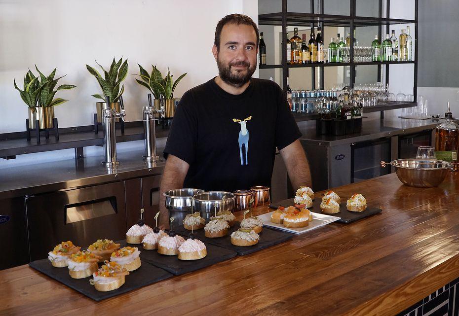 Chef Iñaki Betrán moved from San Sebastián, Spain, to Texas less than a month ago. Go ask him how he likes Oak Cliff at an event on Oct. 29, 2019.
