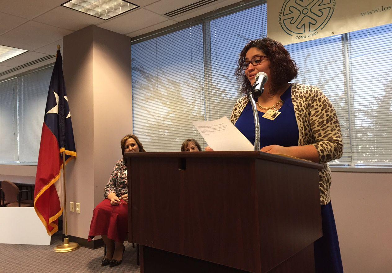 Como promotora de las clínicas Barrios Unidos, Crystal Pina visitará hogares de niños con asma. (AL DÍA/ANA AZPURUA)