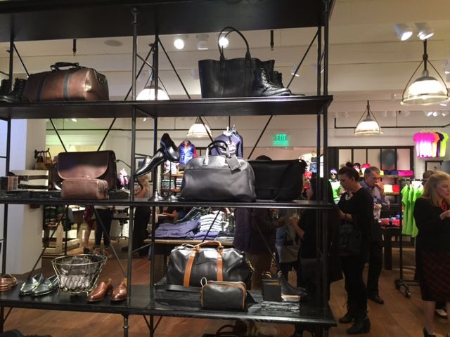 The Ralph Lauren store opened during last year's holiday shopping season.