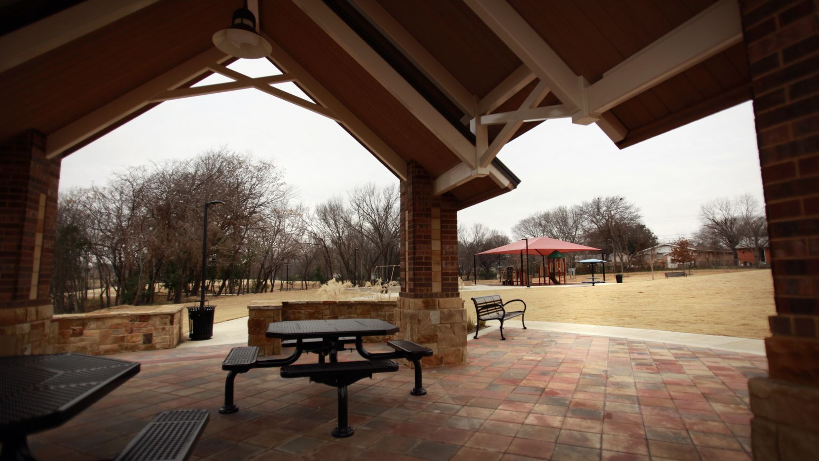 Markwood park on South MacArthur Boulevard in Irving.