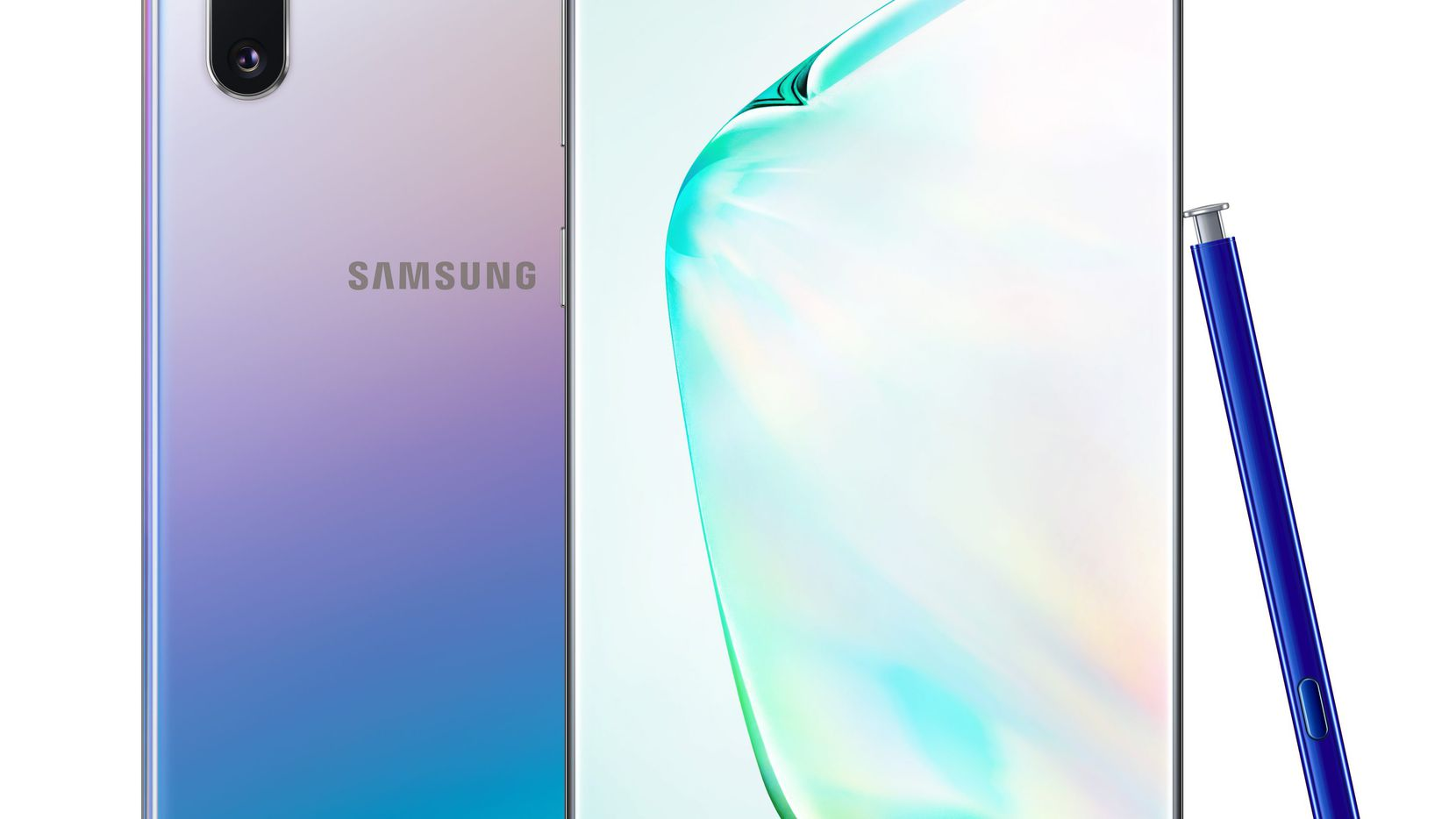 From the outside, the Samsung Galaxy Note 10+ looks a lot like last year's Note 9.