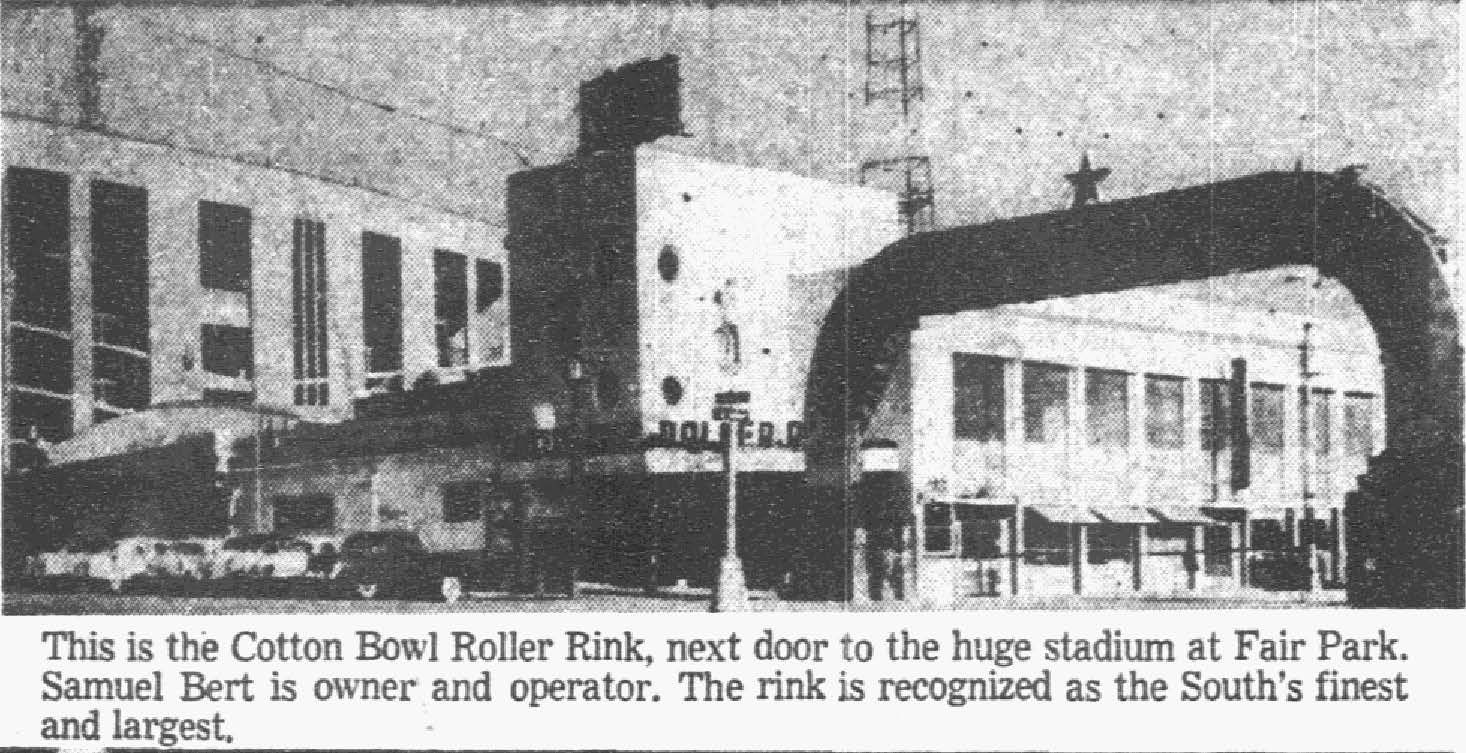Photo from the Dec. 26, 1954, issue of The Dallas Morning News.