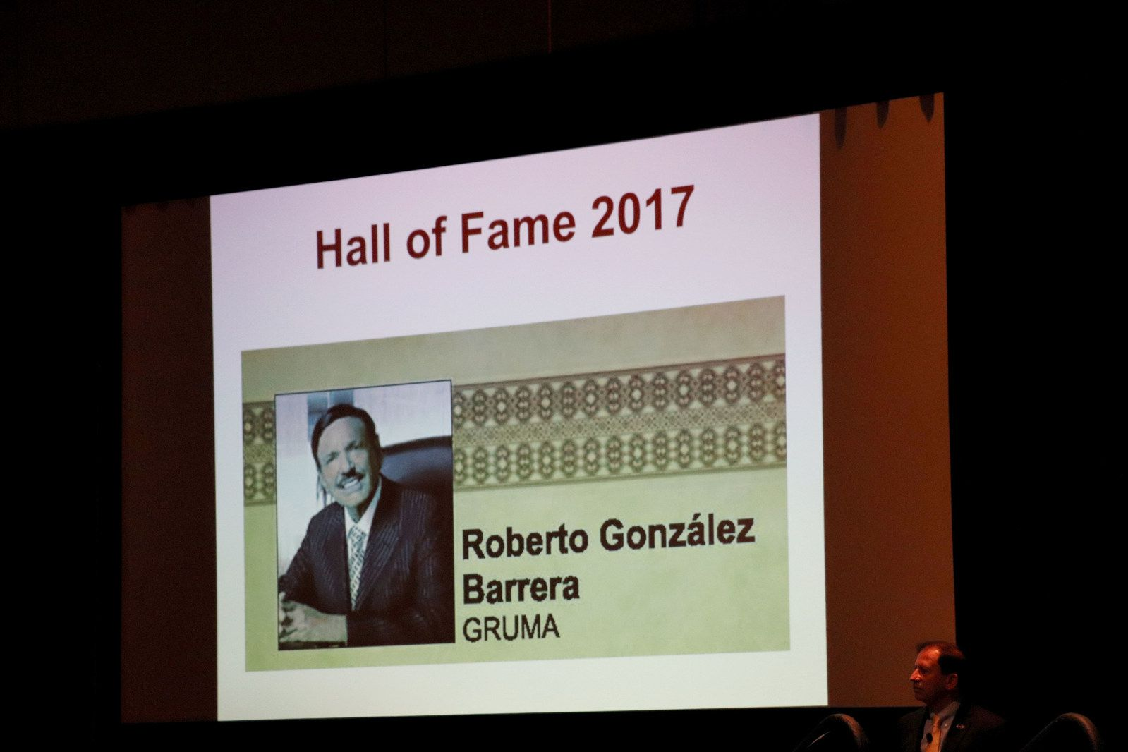 Roberto Gonzalez Barrera was inducted into the Tortilla Industry Association's Hall of Fame earlier this year.