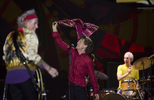 Los Rolling Stones anunciaron que tendrán un concierto gratuito en La Habana el 25 de marzo/ AP
