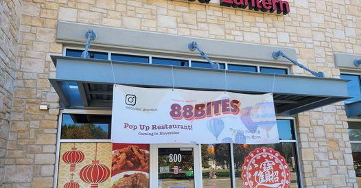 88 Bites, a pop-up restaurant inside The Red Lantern, opened last month in McKinney.