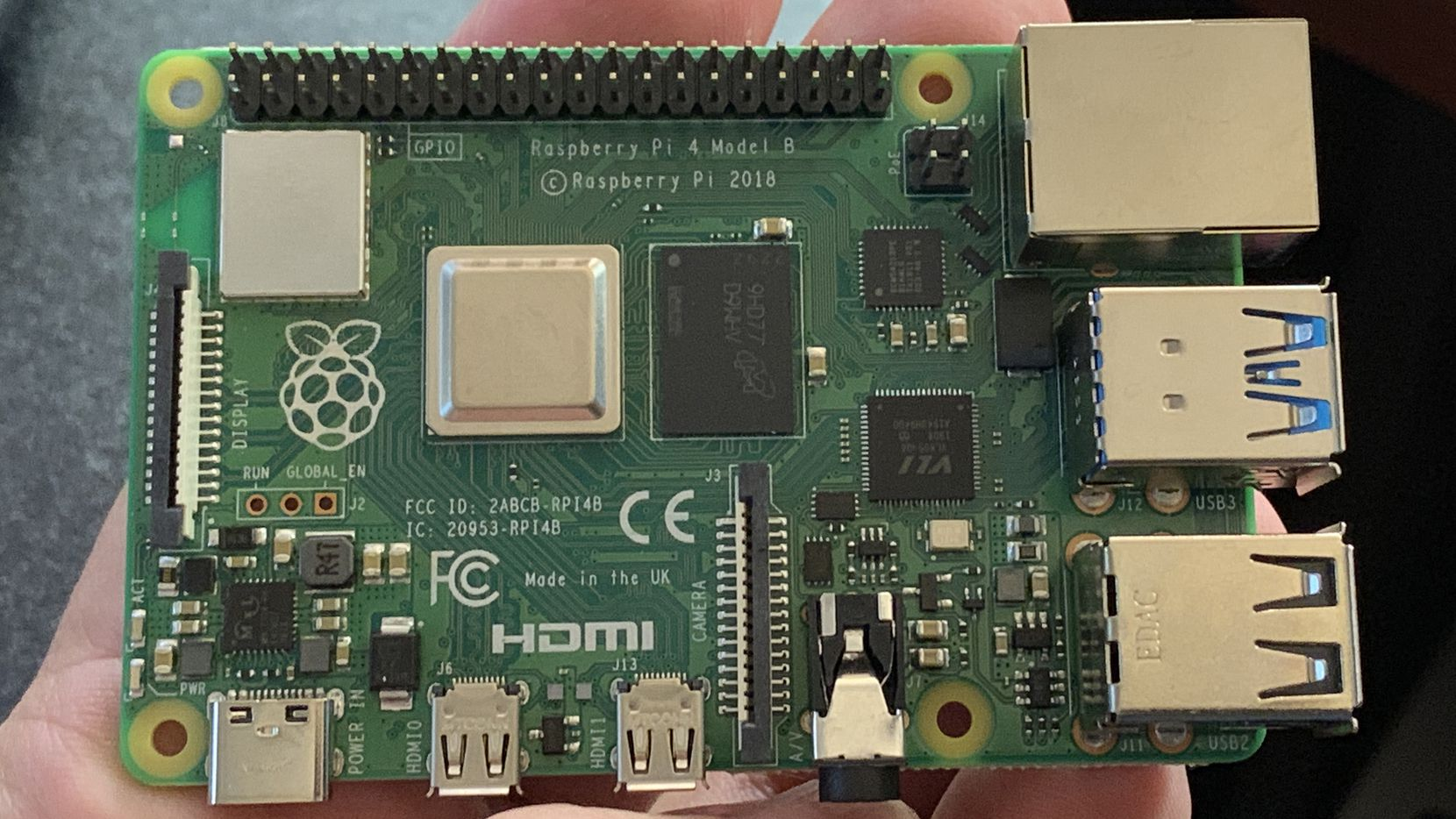 The Raspberry Pi 4