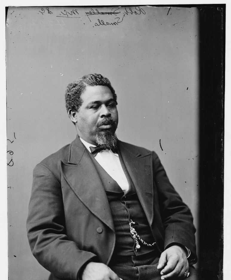 Robert Smalls led a daring escape from slavery and went on to  serve five terms as a U.S. representative from South Carolina.
