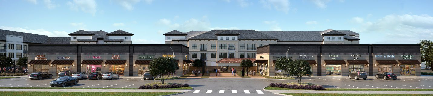 The Lyric at Keller Center Stage apartments will open late next year.