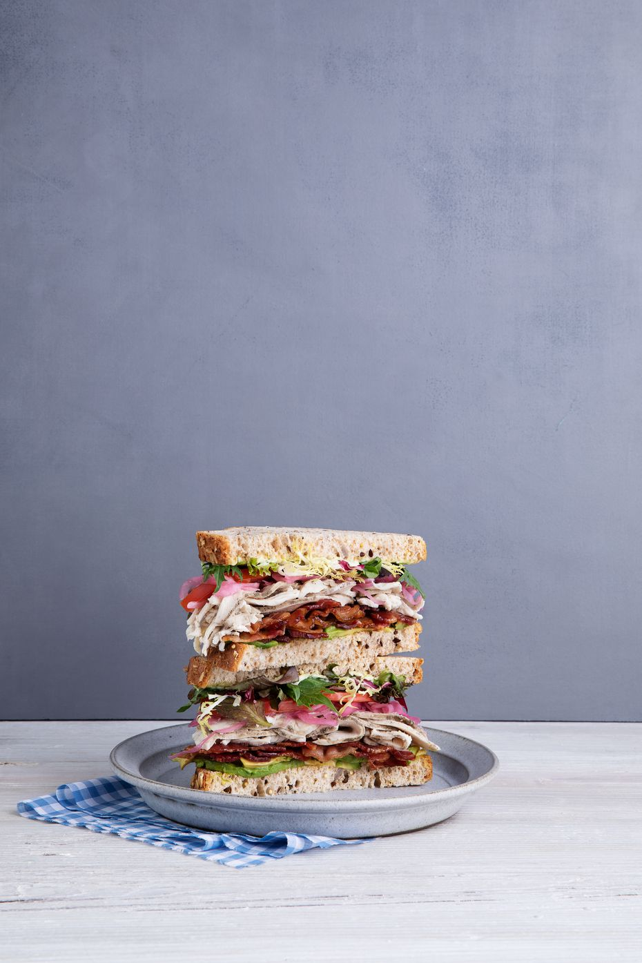 Mendocino Farms' Farm Club is one of more than a dozen sandwiches on the menu.