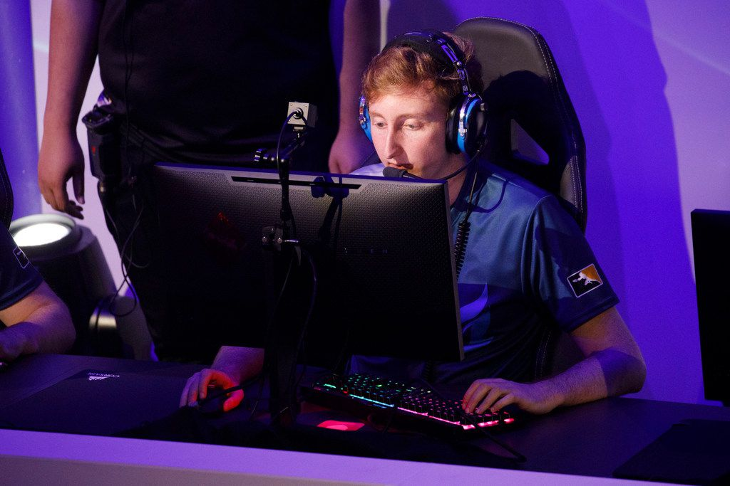 """Lucas """"NotE"""" Meissner was one of the Dallas Fuel's most consistent players during a difficult end of the 2019 regular season."""