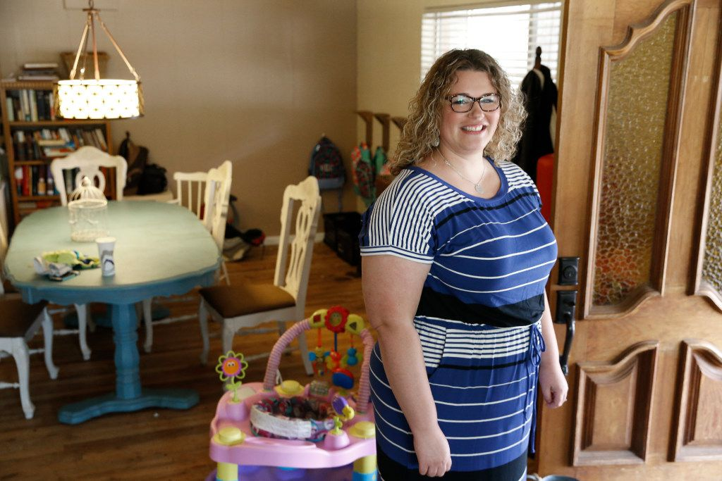 """Mineral Wells foster mother Angela Cook and her husband were among dozens of families that stepped forward to ease a shortage of foster-care beds in their community under """"foster care redesign,"""" a new procurement method. Key GOP lawmakers want to take it statewide, with a new wrinkle -- privatization of CPS workers' case management duties. (2016 File Photo/The Dallas Morning News"""