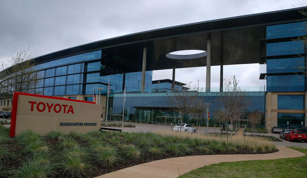 Headquarters of Toyota in Plano, Texas on March 28, 2018.