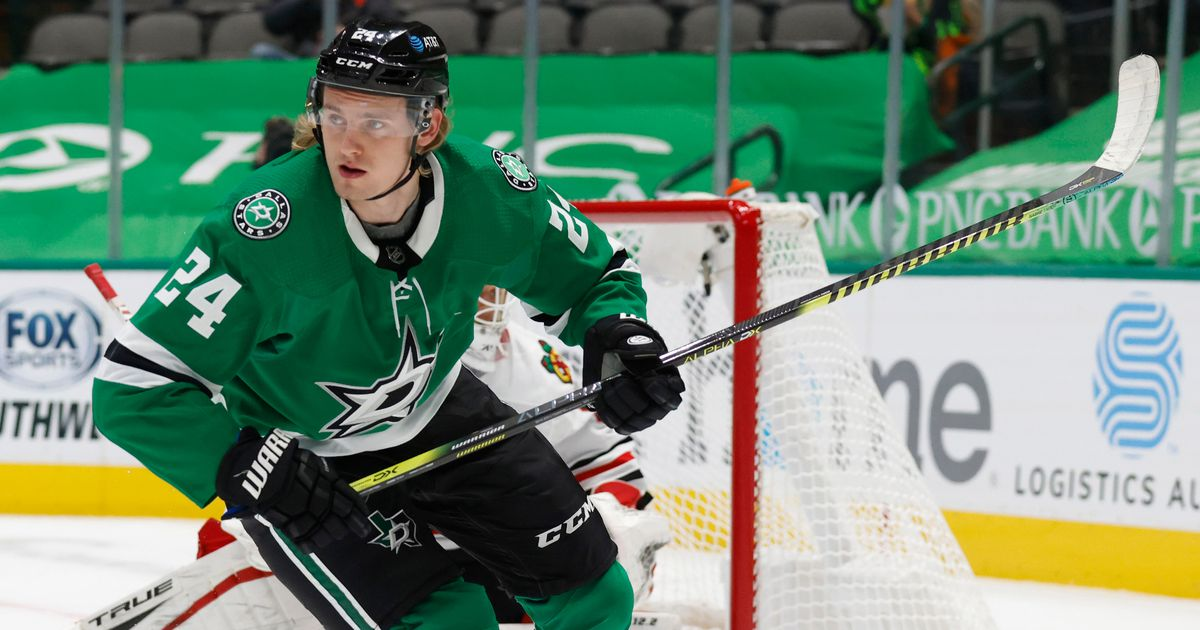 Stars notebook: Dallas being cautious with Roope Hintz; Lineup begins taking shape