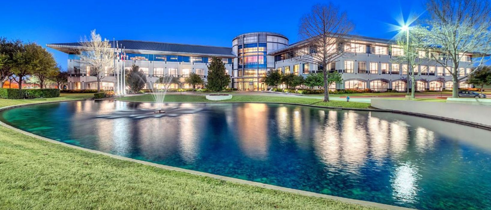 Dr Pepper's Plano headquarters was built in 1998.