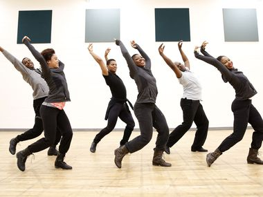 Dallas Black Dance Theatre II dancers perform during a rehearsal for The Dallas Opera's 'Show Boat' in Dallas on March 17, 2016. Many North Texas artists in 2020 are struggling for financial survival in the wake of the coronavirus crisis, which has shut down venues and canceled performances.
