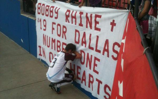 Drew Moor's first return to Dallas after the passing of Bobby Rhine.