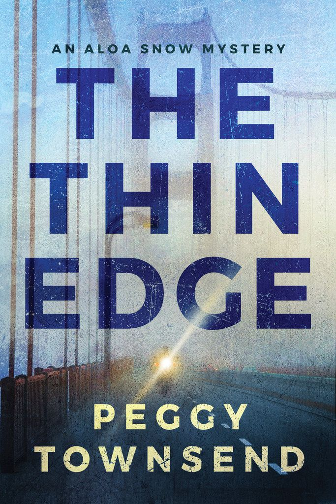 The Thin Edge by Peggy Townsend follows a disgraced investigative reporter who is working toward redemption.
