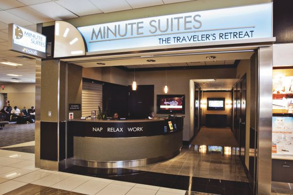 Weary travelers can catch some Z's between catching flights when Minute Suites opens a location in Terminal D at Dallas/Fort Worth International Airport late this year.