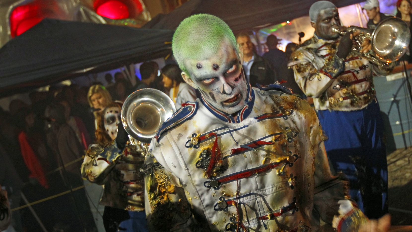 Cutting Edge Haunted House, located in a former meatpacking plant in Fort Worth, is one of the area's frightening destinations for thrill-seekers this Halloween season.