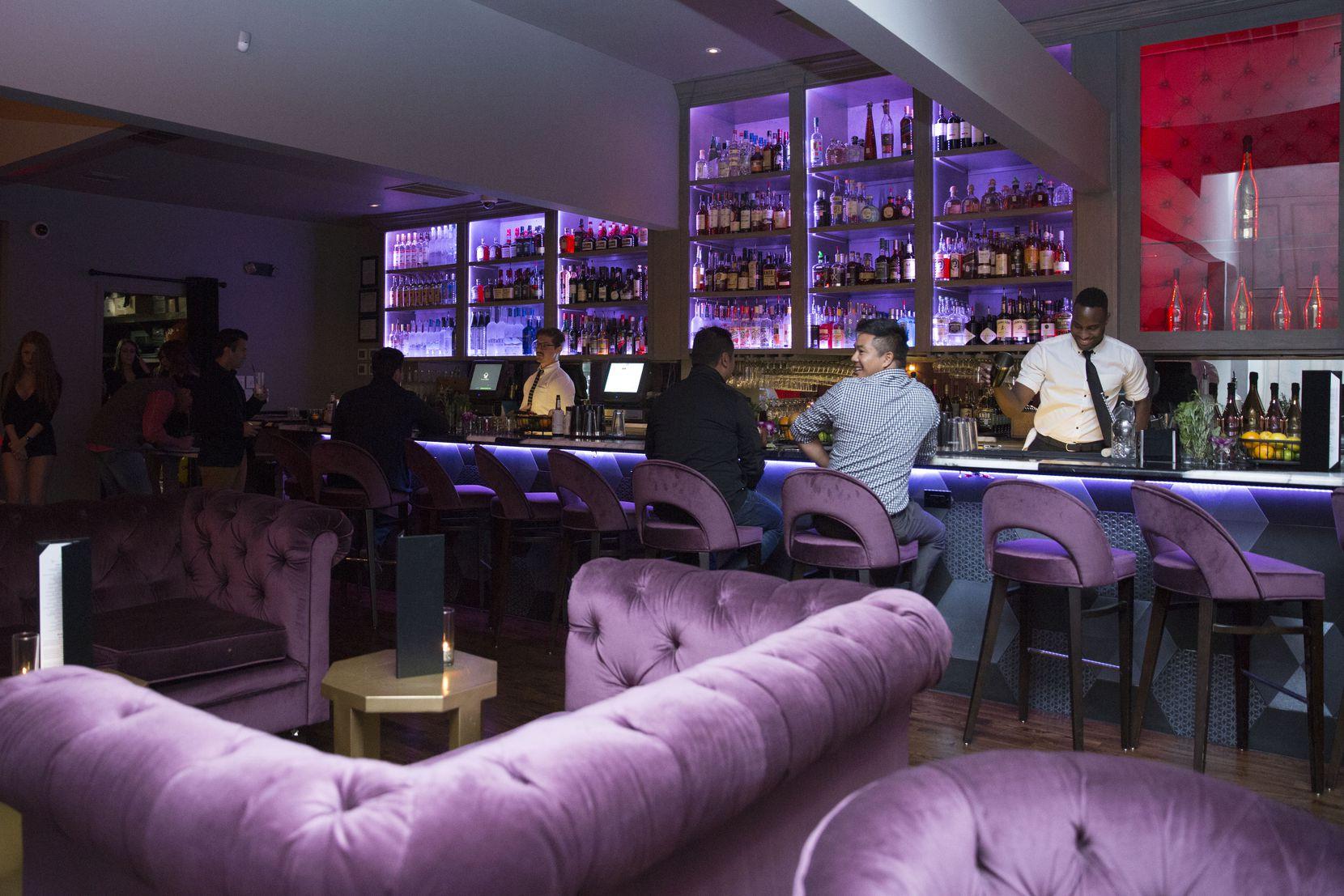 The bar at Citizen.
