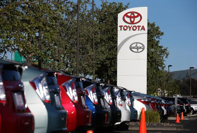 Toyota saw robust demand in December for its top-selling RAV4 compact SUV, Camry sedan and mid-size Highlander SUV.