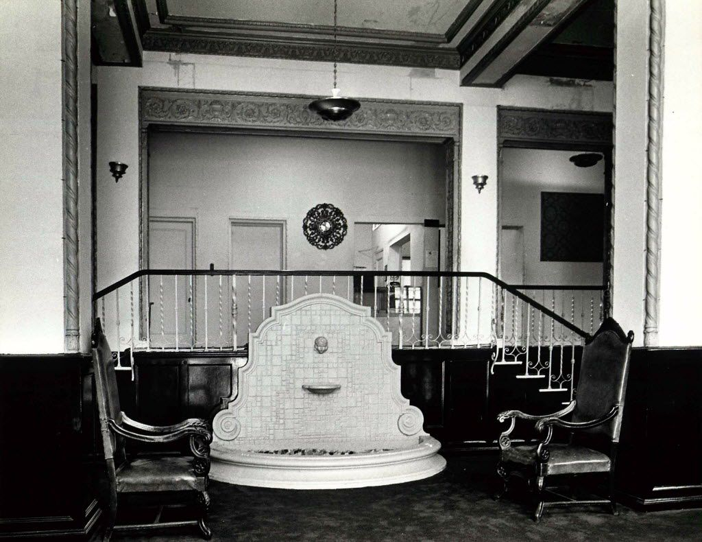 The lobby as it looked in 1979