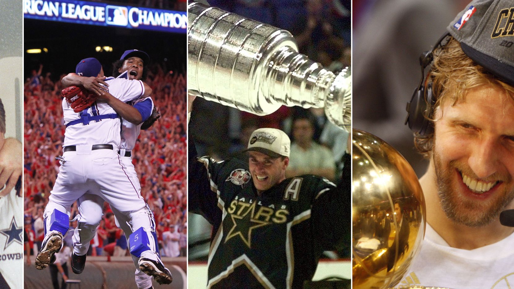 File photos: A look back at some of D-FW sports' greatest postseason moments.