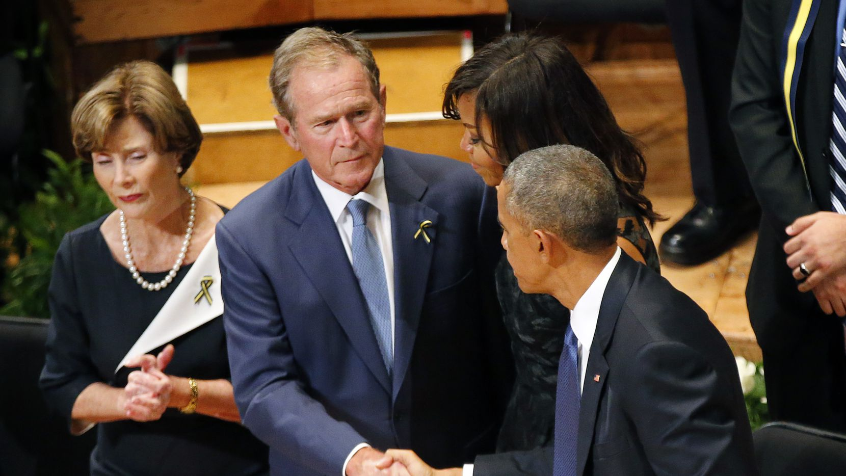 President George W. Bush is apparently concerned that Donald Trump will do long-term damage to the GOP.