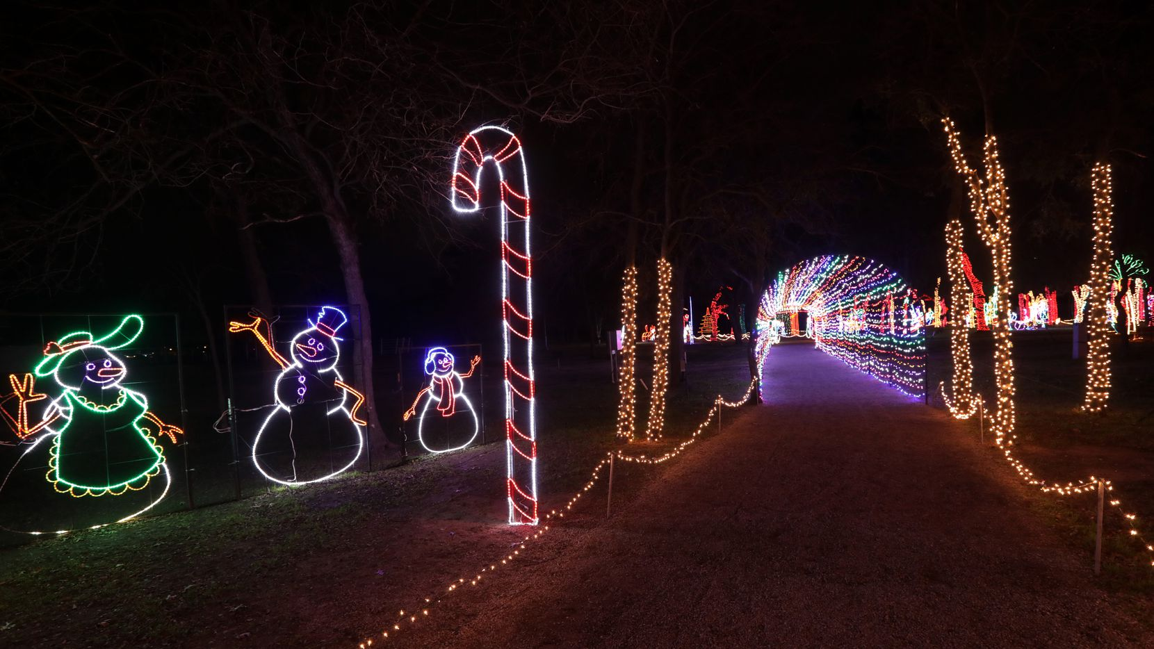 Prairie Lights is a drive-through attraction features around 4 million twinkling bulbs plus several new highlights this year.