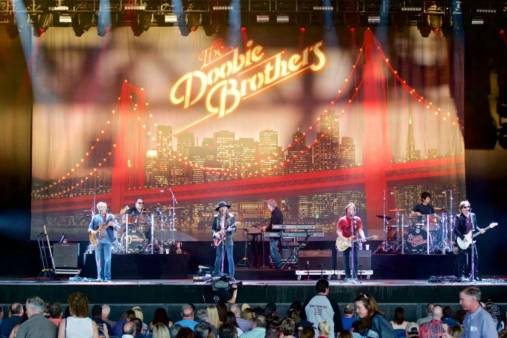 The Doobie Brothers perform during a concert at Gexa Energy Pavilion, Friday, May 20, 2016. (Brandon Wade/Special Contributor)