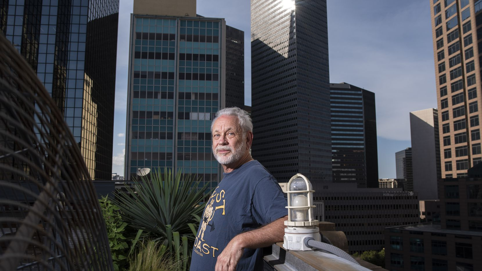 Lifelong Dallas resident and radio legend Mike Rhyner