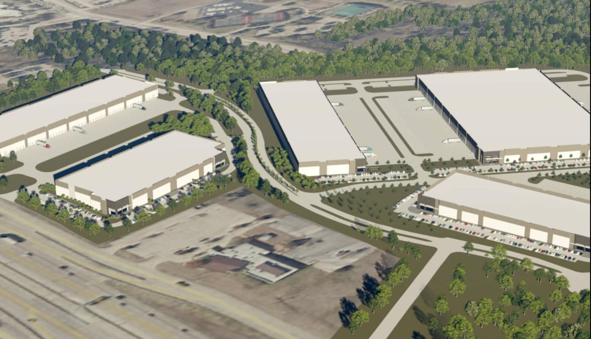 Five buildings are planned in the UD30 business park.