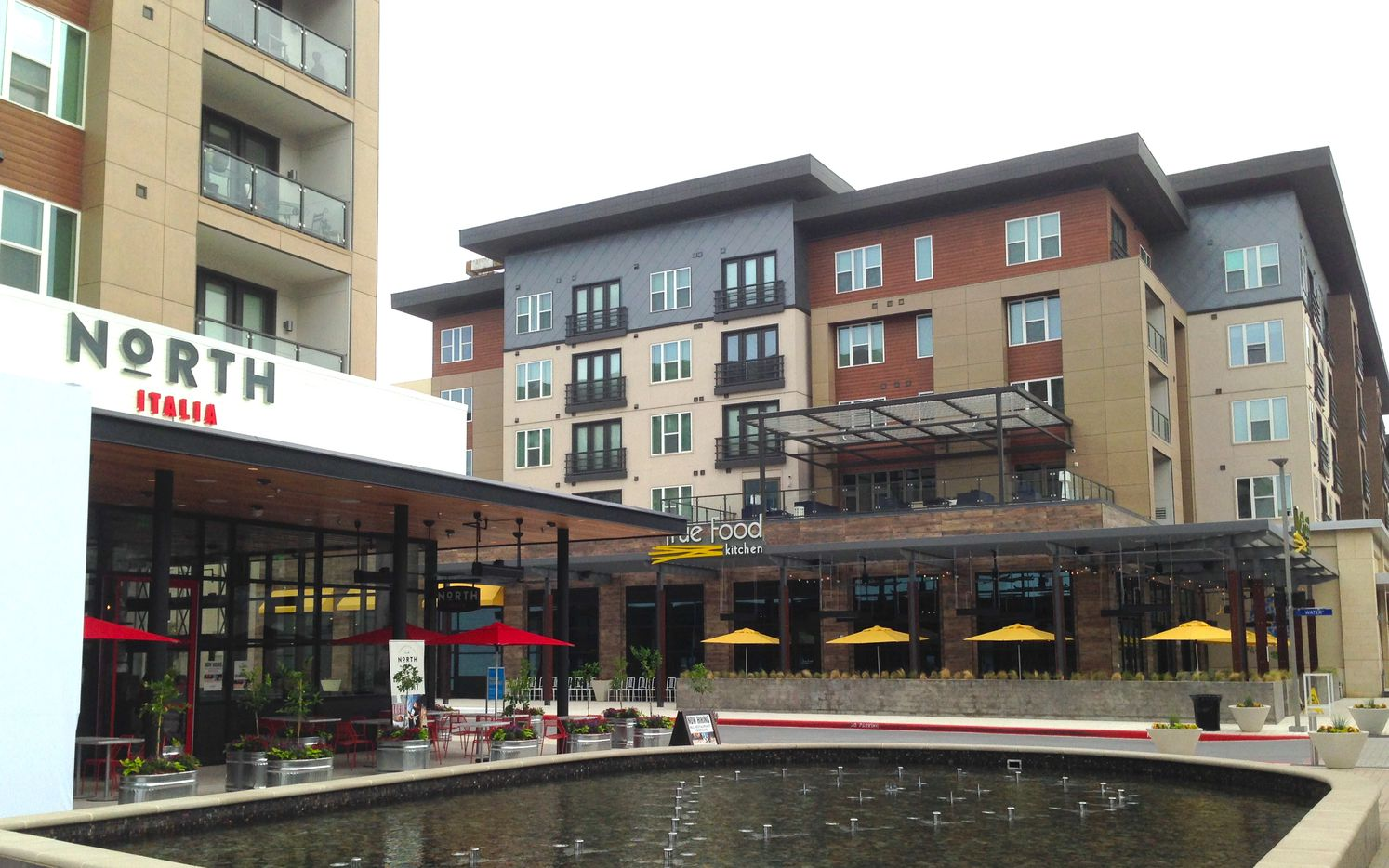 Legacy West Urban Village includes more than 300,000 square feet of shops and restaurants and hundreds of new apartments.